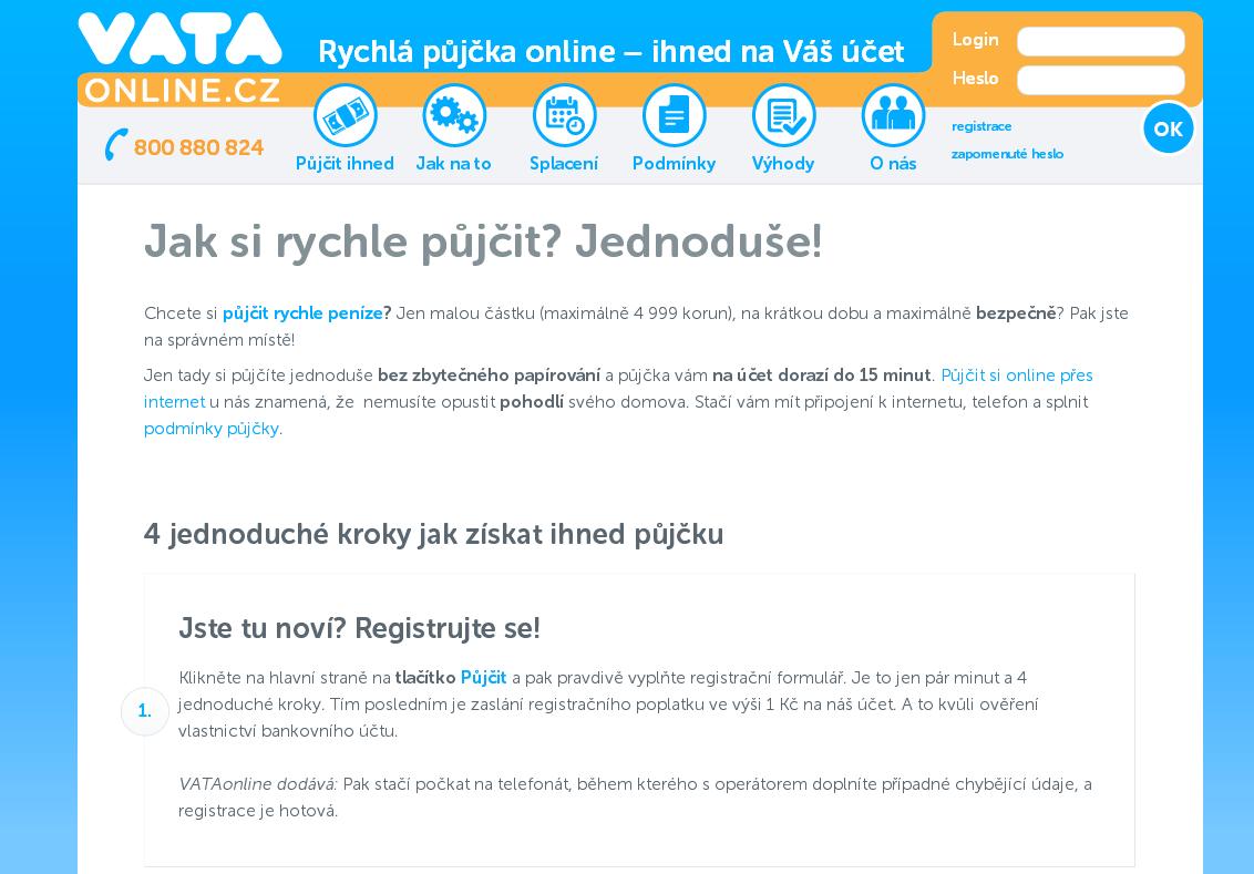 Online pujcka ihned česká skalice s.r.o