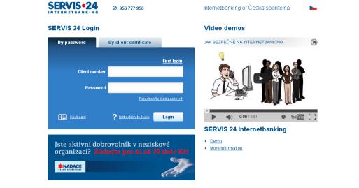 Servis 24 Internetbanking